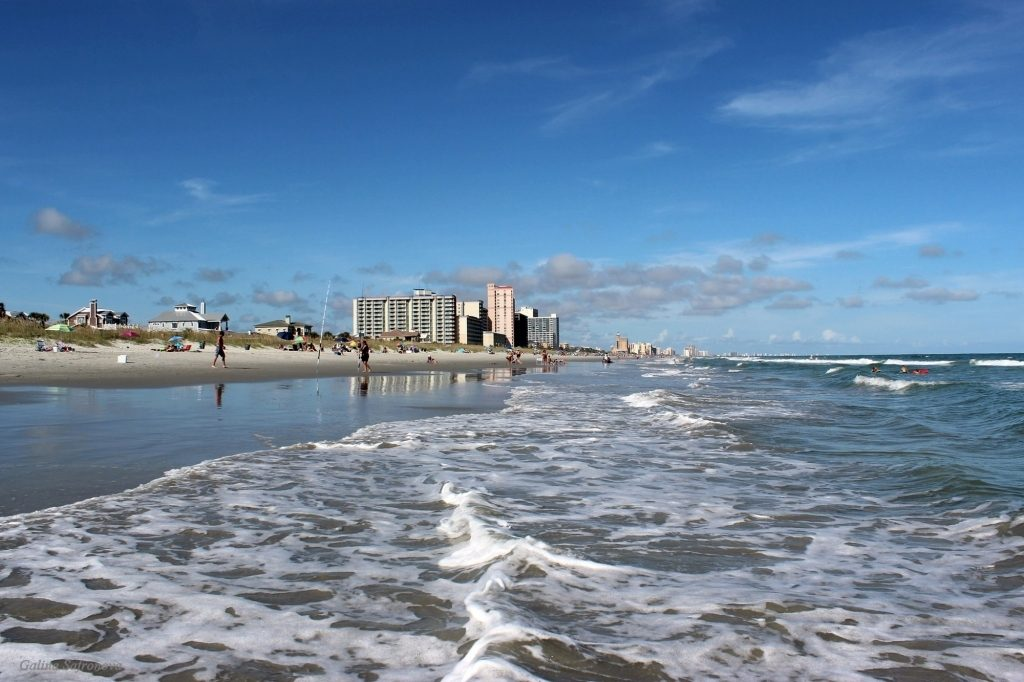 seaside-view-with-myrtle-beach-in-background-south-carolina-public-domain